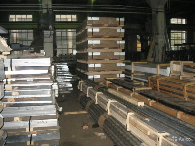 Алюминиевый металлопрокат шина